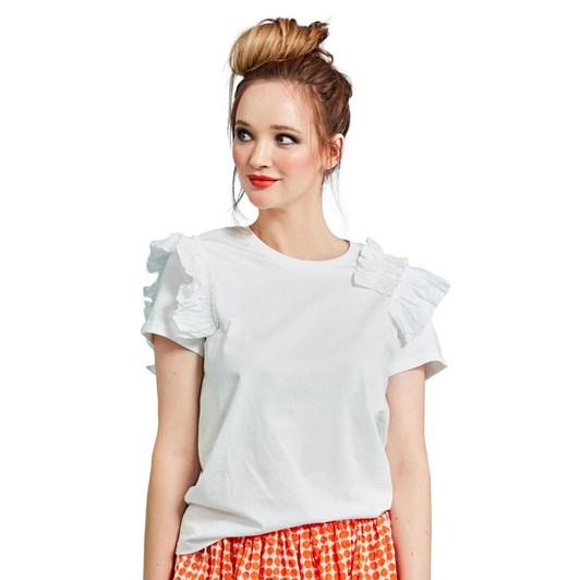 Curate Riffle Ruffle T-Shirt