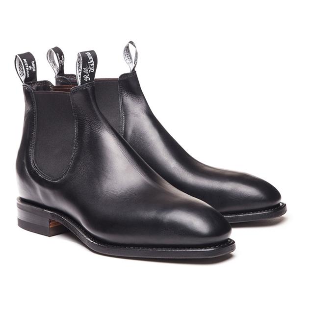 R.M. Williams Ladies Comfort Craftsman Boots - G Fitting - black