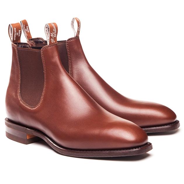 R.M. Williams Ladies Comfort Craftsman Boots - G Fitting -