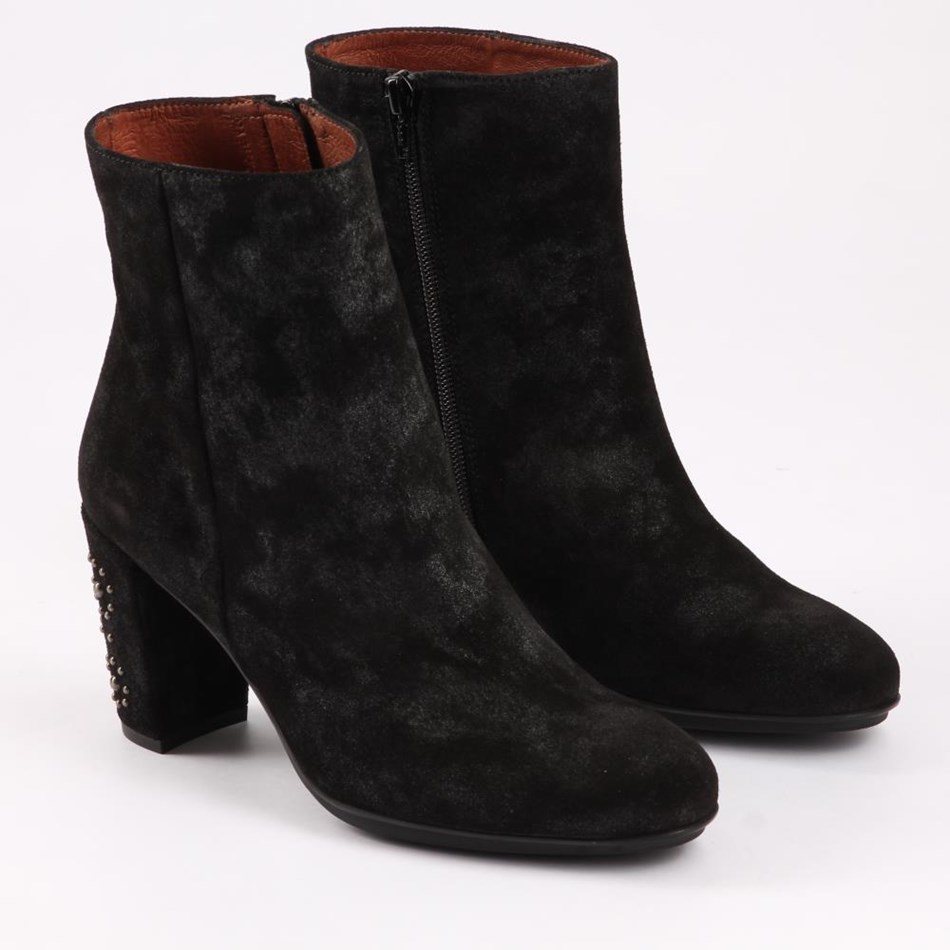 Hispanitas Ankle Boot With Studded Heel -