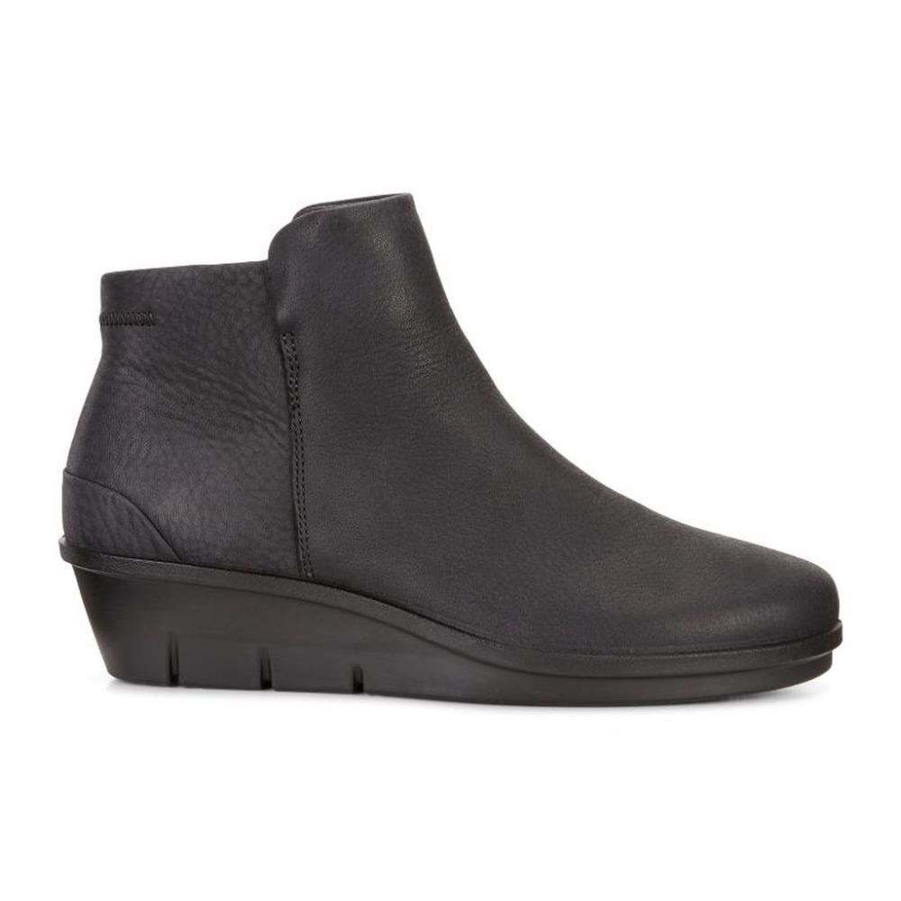 Ecco Skyler Ankle Boot Black Quarry