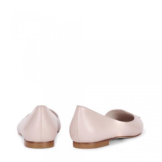 Lulu Guinness Kissing Cameo Simone Flat Shoe