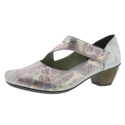 Rieker Medium Heel Mary-Jane