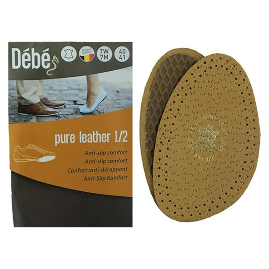 Debe Pure Leather Half Insole 38/39