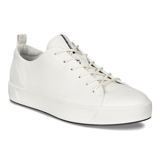 the latest 33792 8b591 Sneakers - Ecco Soft 8 Ladies White Trento - Ballantynes ...