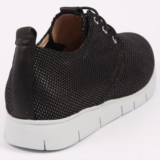 Hispanitas Sneaker With Metallic Trim