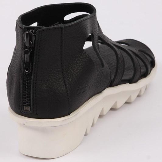 Arche  Rear Zip Sandal Ripple Sole