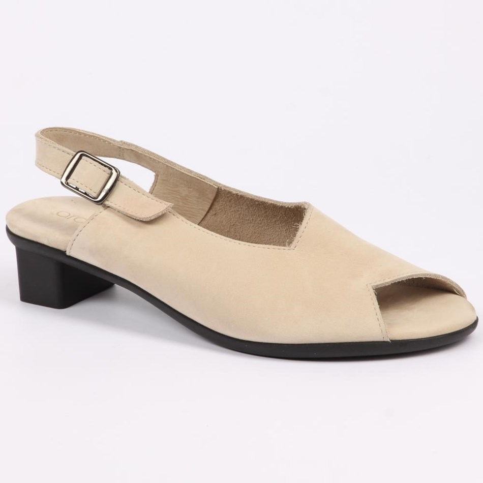 Arche  Obicko Slingback With Recessed Heel  - perle