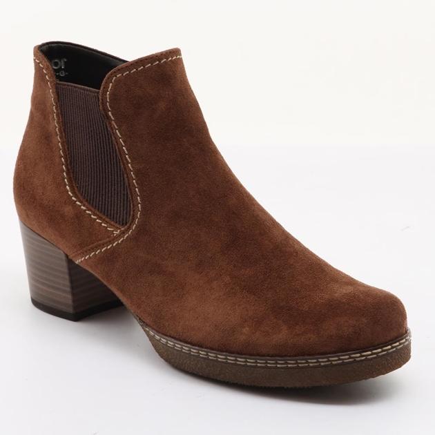 1f903917de6 Gabor - Gabor Block Heel Ankle Boot - Ballantynes Department Store