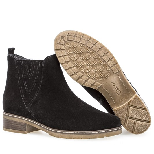 Gabor Stitched Ankle Boot