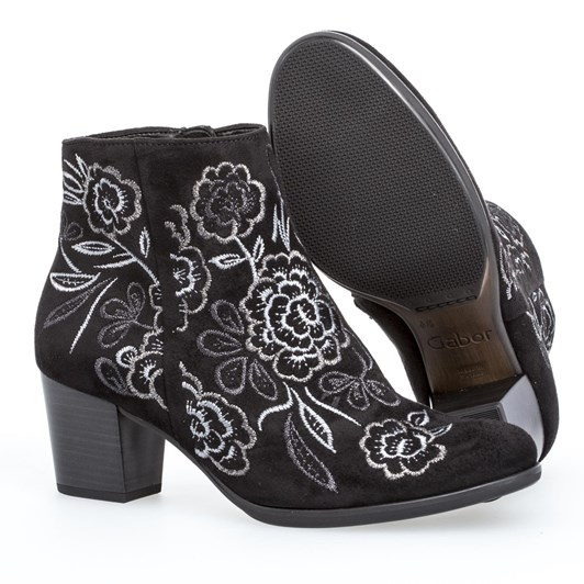 Gabor Embroidered Boot 55mm