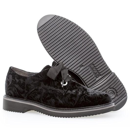 Gabor Lace Tie Shoe Suede