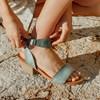 Eos Sandal With Cuban Block Heel -