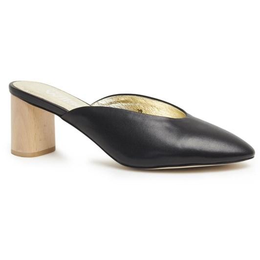 Miss Wilson mule with mid heel