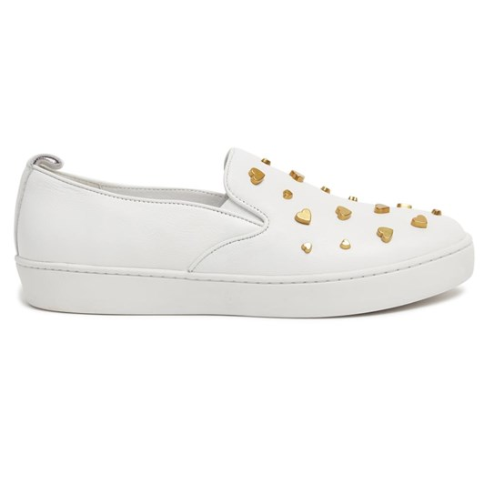 Miss Wilson loafer with heart detail