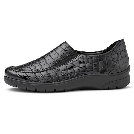 Ara Loafer Patent Croc