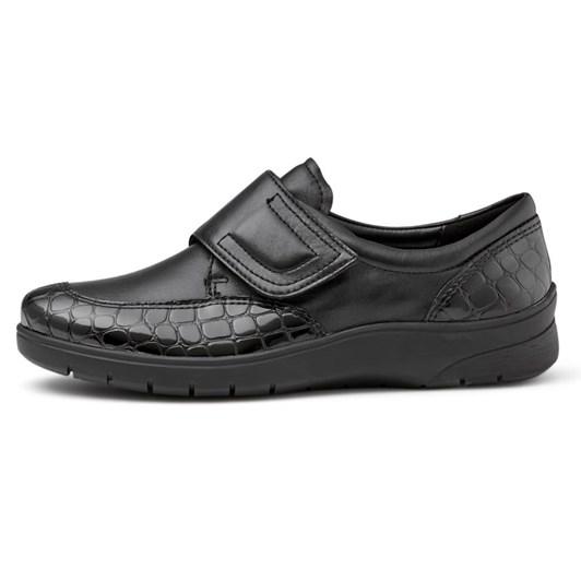 Ara Velcro Patent Croc Loafer