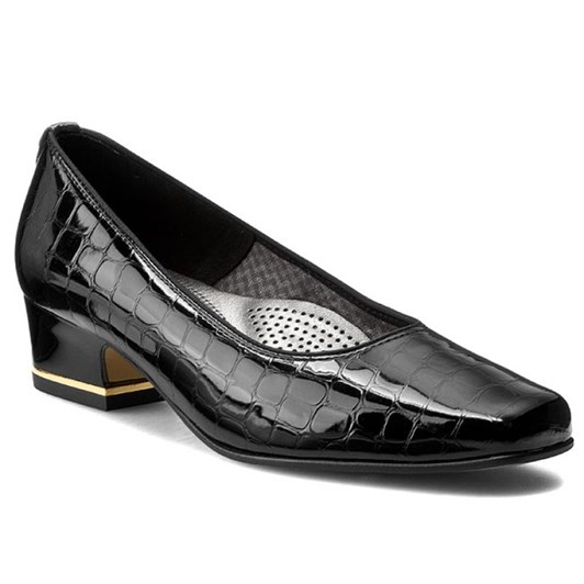 Ara Court Shoe 35mm Patent Croc