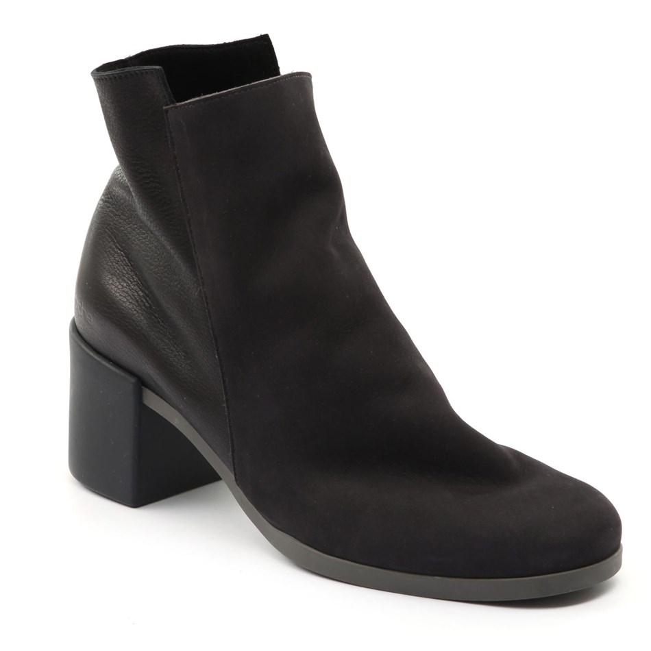 Arche Angaya Flat Ankle Boot - lauze noir