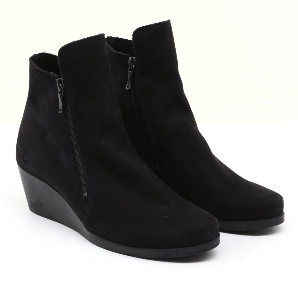 Arche Jolia Ankle Boot with Heel - noir