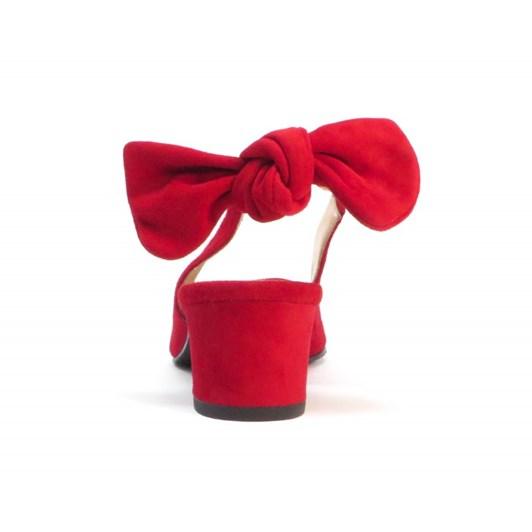 Brenda Zaro Bow Tie Back Court Heel