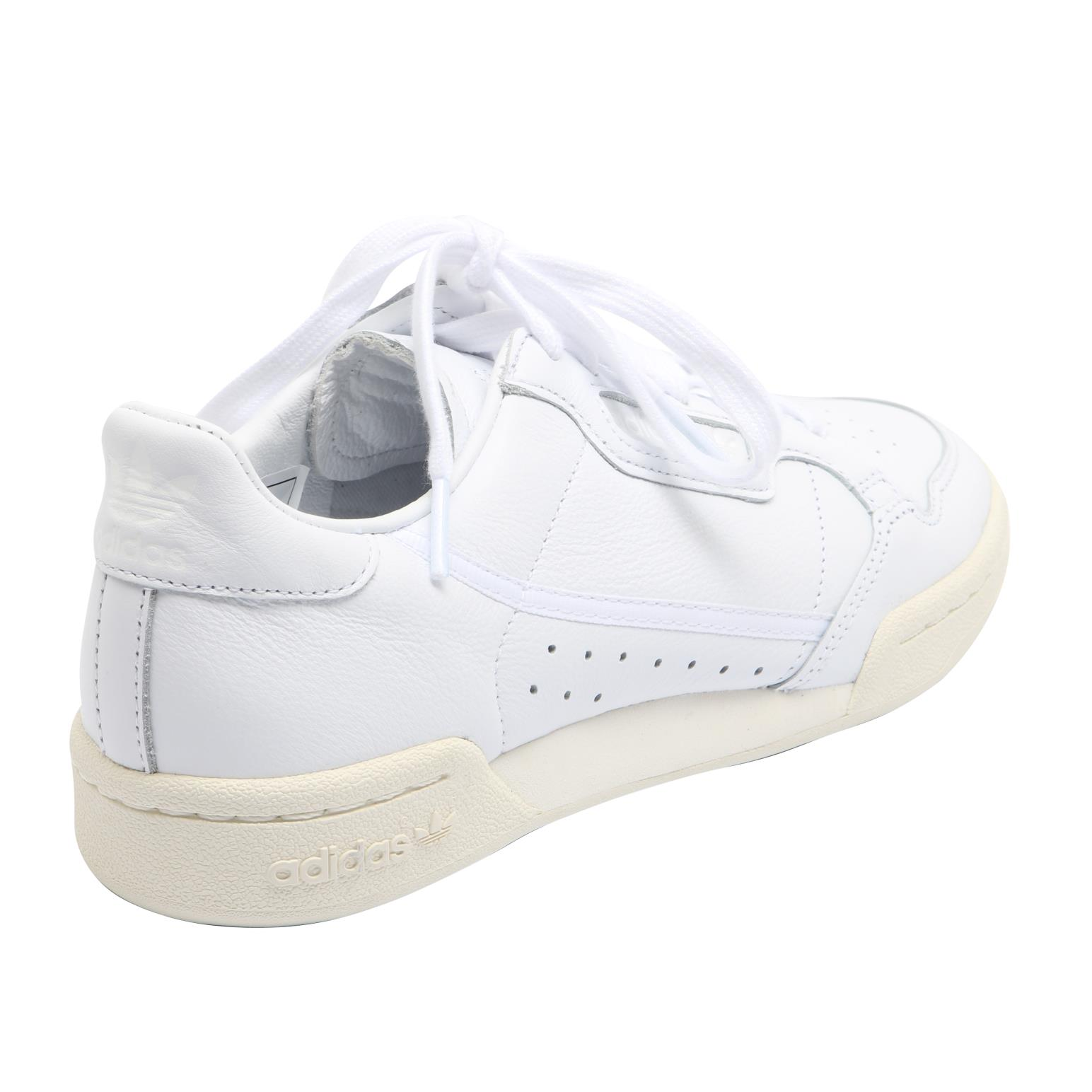 Details about MENS ADIDAS ORIGINALS CONTINENTAL 80 CREAM LEATHER RETRO SPORTS TRAINERS SIZE 6