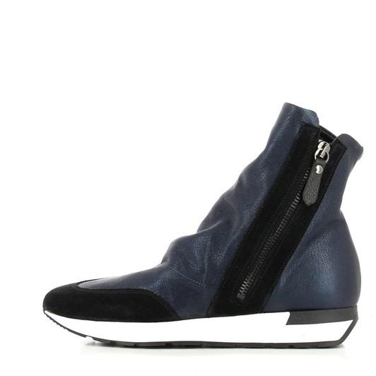 Lilimill Hi Top Sneaker Zip Side