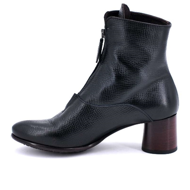 Lilimill Ankle Boot Zip Front - black