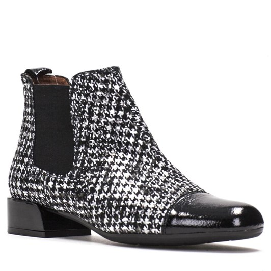 Hispanitas Houndstooth Ankle Boot