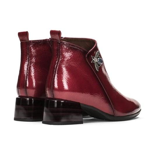 Hispanitas Ankle Boot Brooch Detail