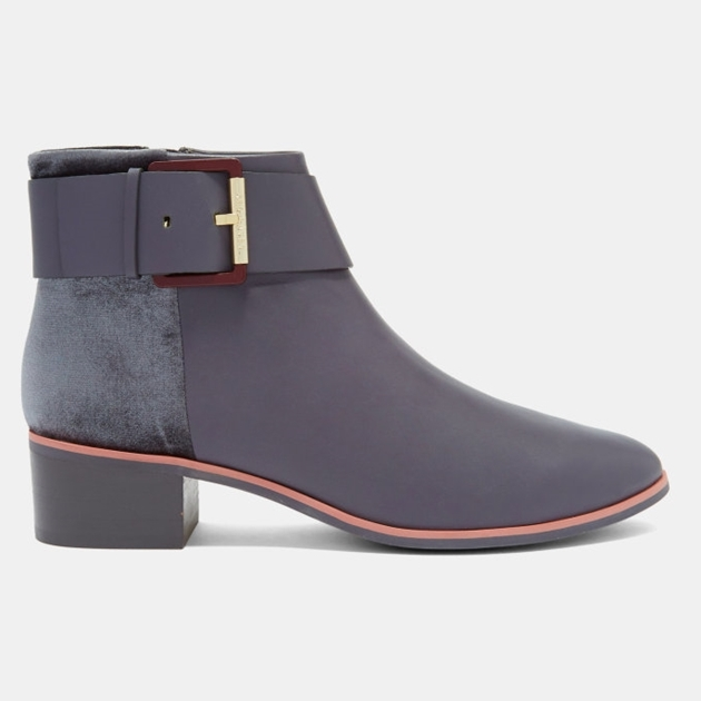 Ted Baker Alezqa Heeled Ankle Boot - 05 grey