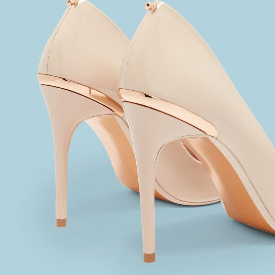 Ted Baker Kaawa High Heeled Shoe - 57 nude pink