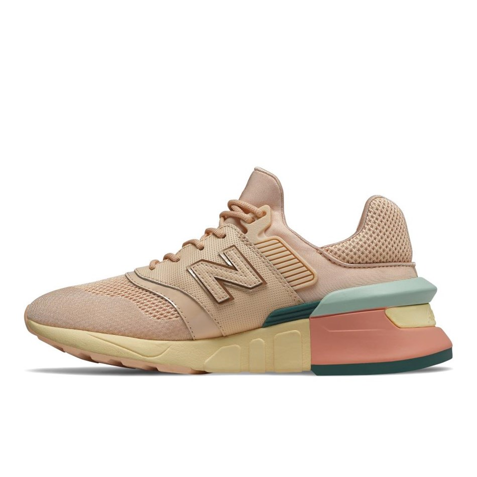 New Balance Womens 997 Sport - peach multi nubu