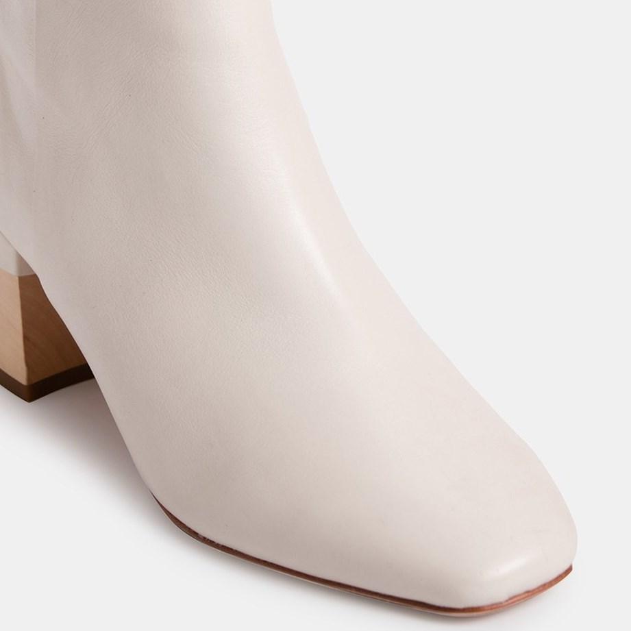Zoe Kratzmann Bond Leather Boot - chalk