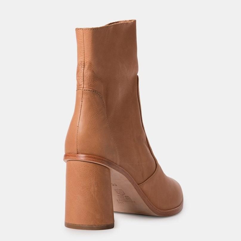 Zoe Kratzmann Protégé Leather Boot - biscuit