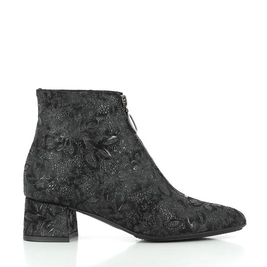 Tottetti Brocade Leather Boot