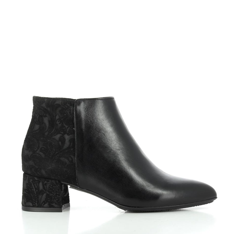 Tottetti Brocade + Leather Boot -