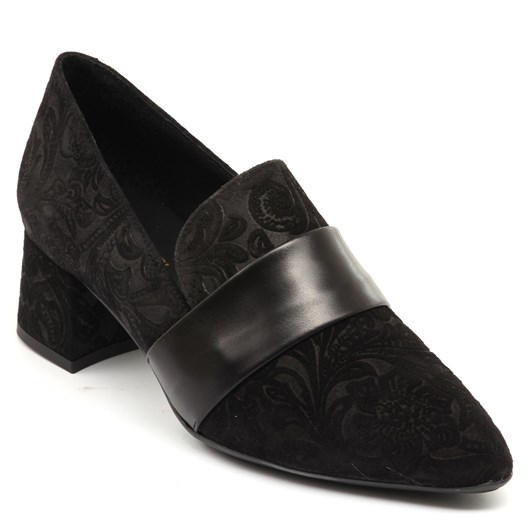 Tottetti Brocade Heel Loafer