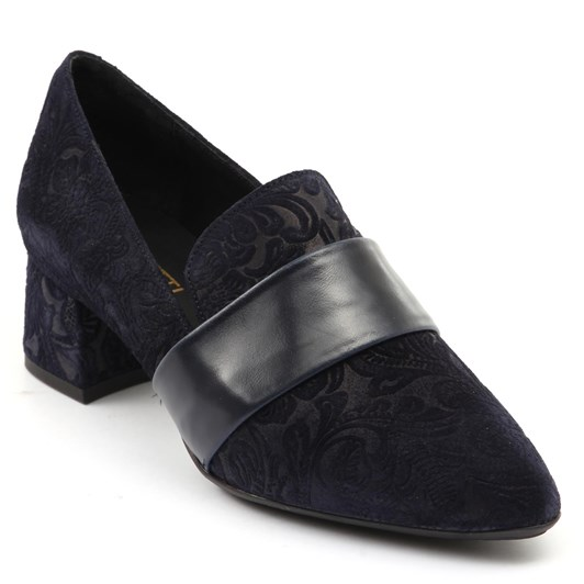 Tottetti Brocade Heel Loafer