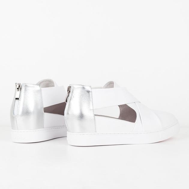 MINX Donatello Boot - white silver