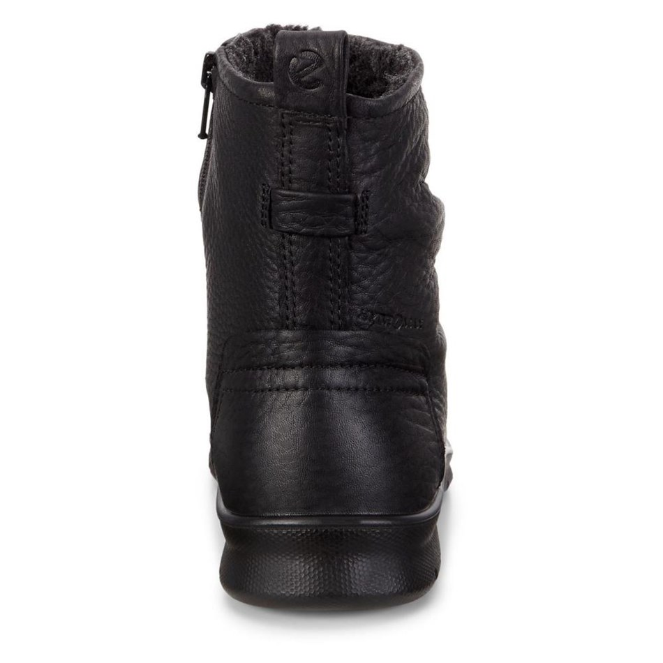Ecco Babett Boot Black Quarry Boots -