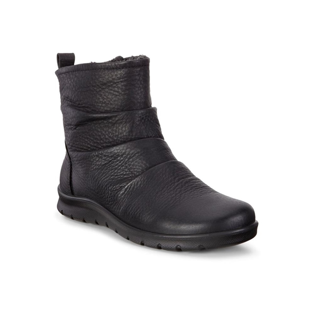 Ecco Babett Boot Black Quarry Boots - black