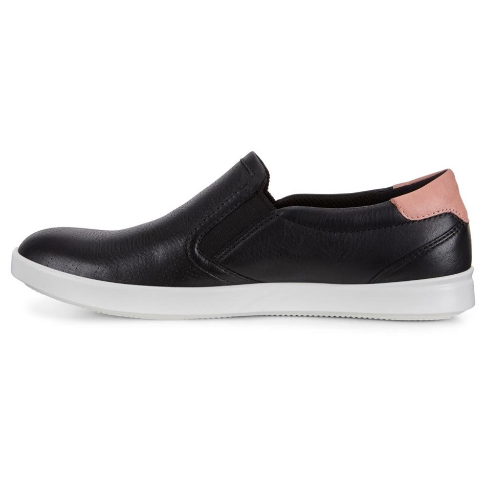 Ecco Aimee Blackmuted Clay Featherdroid Casual Shoe  - blackmuted
