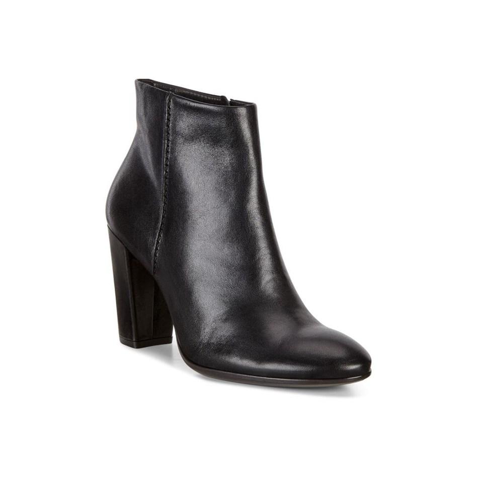 Ecco Shape 75 Block Boots - black