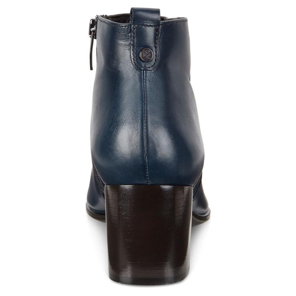 Ecco Shape 45 Pointy Block Pavement Roxy Ox Boots -