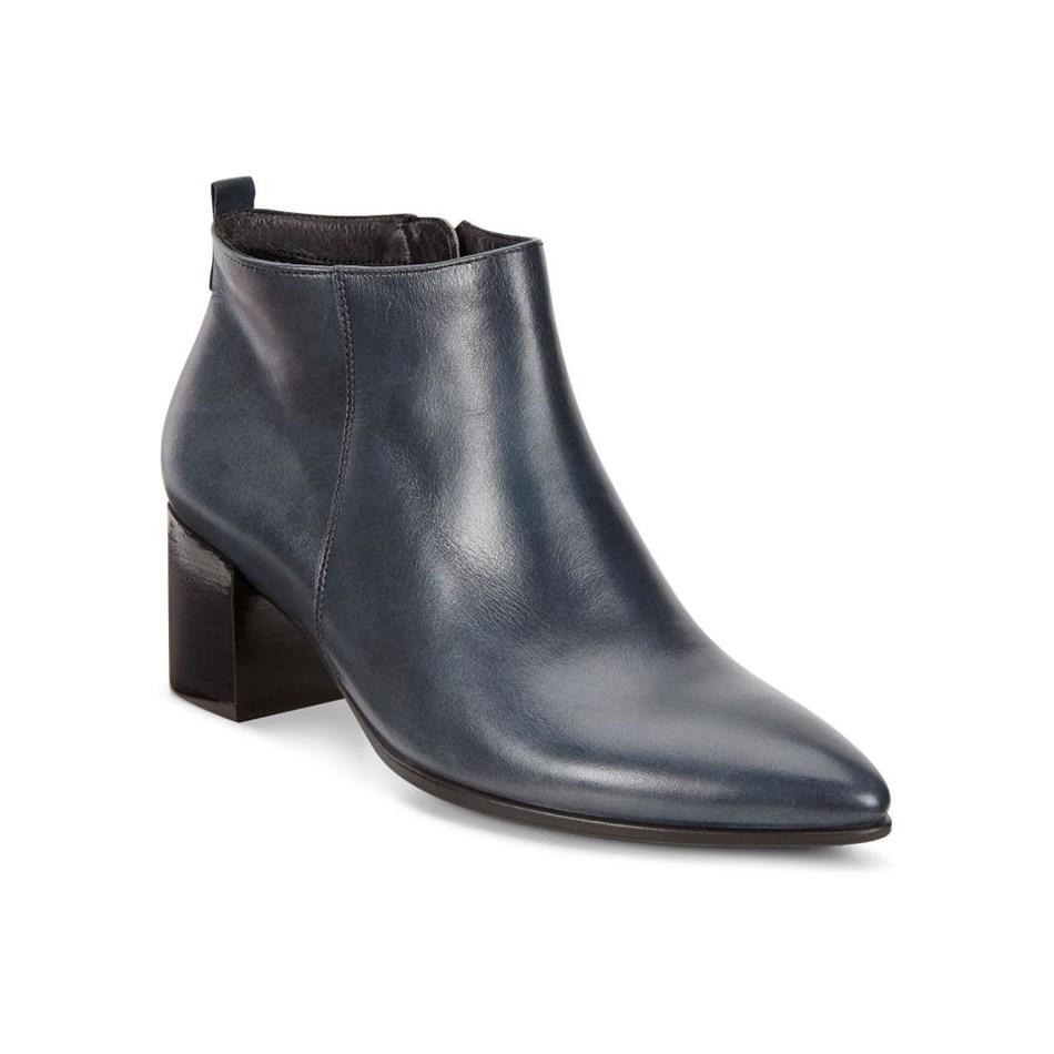 Ecco Shape 45 Pointy Block Pavement Roxy Ox Boots - pavement roxy