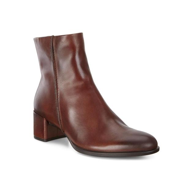 Ecco Shape 35 Block Boots - bison