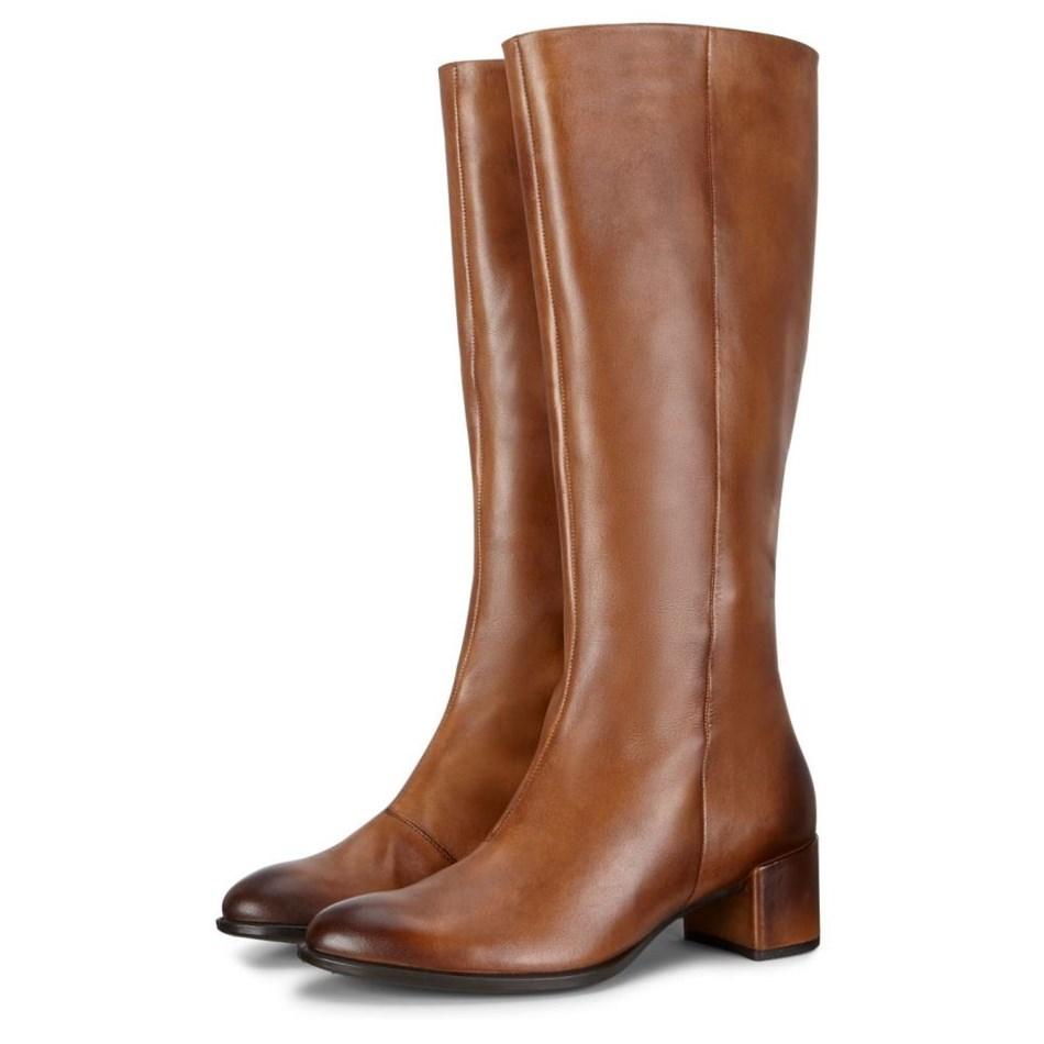 Ecco Shape 35 Block Amber The Natural Boots - amber
