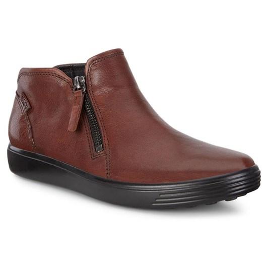 9679c652ad Ecco Soft 7 W Cognac Borneo Boots ...