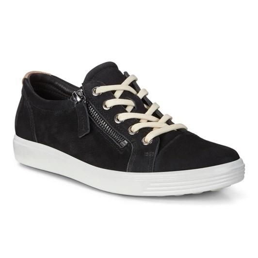 Ecco Soft 7 W Wild Black Diffuse Casual Shoe